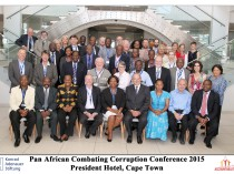 Pan African Combating Corruption conference Cape Town Nov 2015