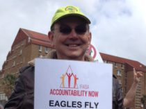 Paul Hoffman at the #UniteAgainstCorruption march September 2015