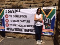 #SaveSouthAfrica protest march 2nd Nov 2016