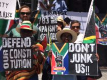 #SaveSouthAfrica protest march